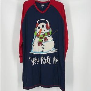 Lazy One Christmas Sleepwear You Melt Me